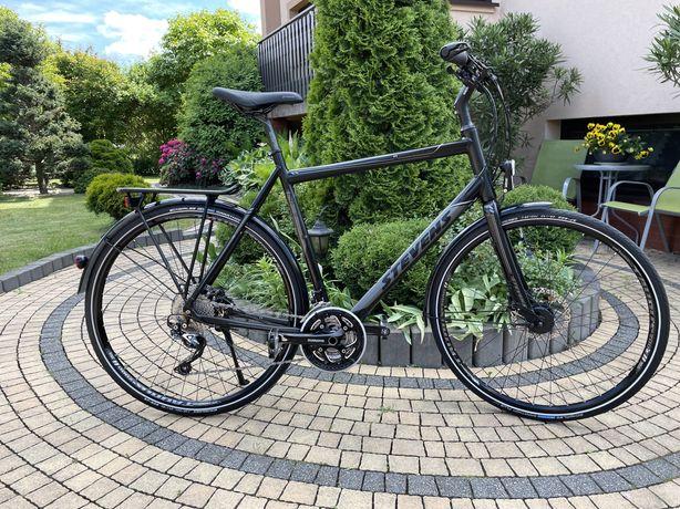 """Piekny duzy rower stevens x-12v   rama 24"""" 61 cm"""
