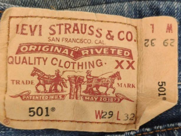 Levi's 501 praktycznie nowe spodnie