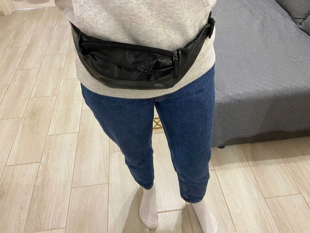 Бананка answear/ сумка на пояс / сумка через плече