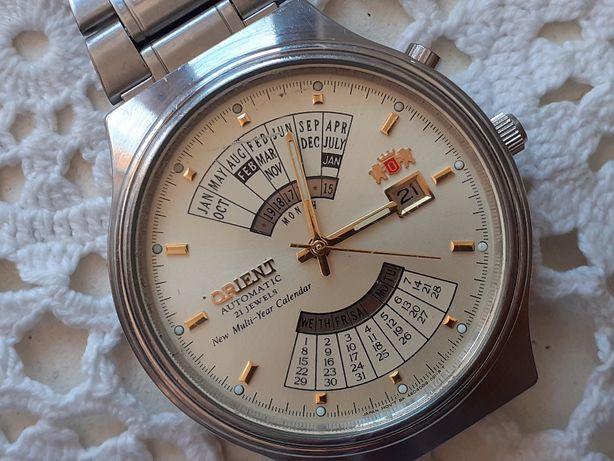 orient królewski japoński zegarek na rękę t.zw. patelnia