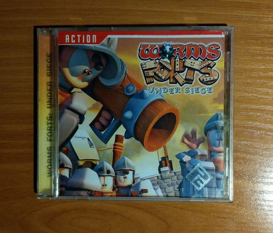 CD-диск Worms Forts under siege
