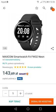 MAXCOM Smartwatch Fit FW32 Neon