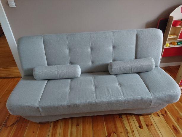 Kanapa, sofa, fotele j. IKEA, Meble Pyka, model Eryk, szary, 3 osobowa