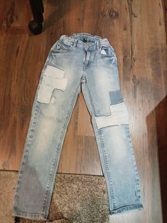 Spodnie jeansy zara 9-10