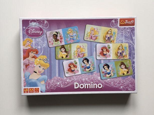 Gra rodzinna Domino Princess Księżniczki Disney - Trefl