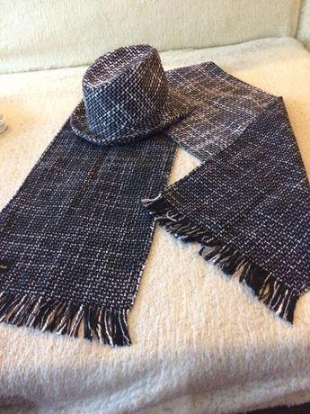 Шляпа и шарф от дизайнера Александр Данченко