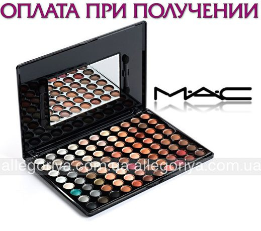 Тени Палитра палетка теней 88 оттенков для глаз, век Mac Cosmetics