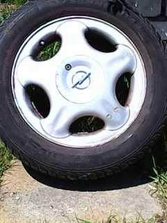 Alufelgi z oponami Radial 185/60 R14 82H Opel Corsa C 1.0 x 4