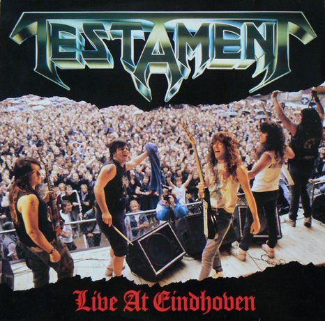 Testament – Live At Eindhoven, Megaforce Records 1987, Vinyl