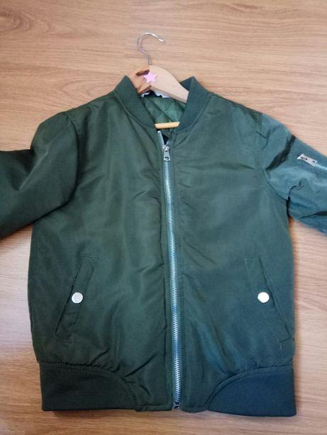 Blusão verde (tipo bomber) Tiffosi 9/10 anos