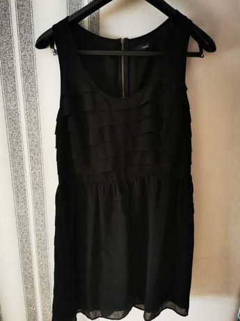 Mini sukienka z falbankami