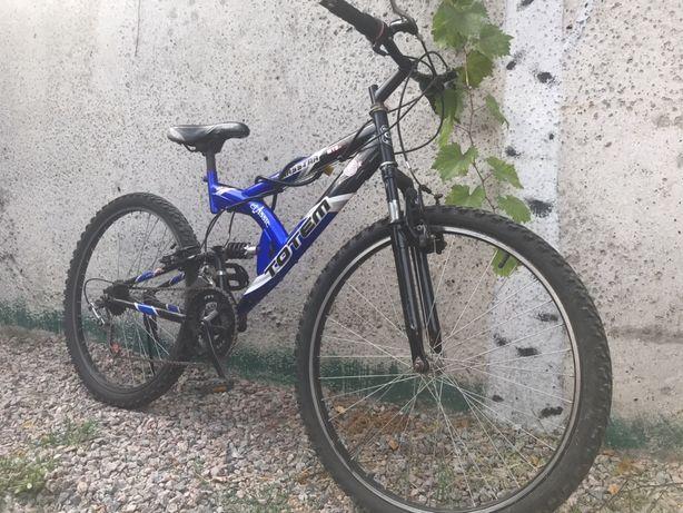 Велосипед двух подвес