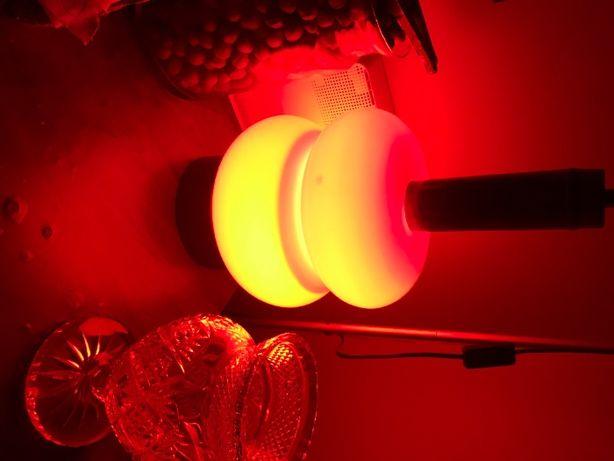 lampa stojąca kolor czerwony