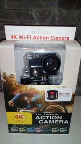 kamera sportowa 4K EKEN H8R *nowa* pilot czarna