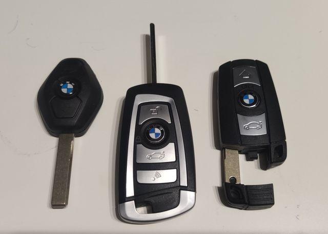 Kluczyk BMW E90 E60 E70 E87 E81 E84 CAS2, CAS3 868mHz programowanie