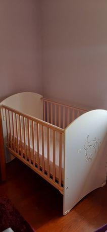 Berço de bebê zippy com colchão