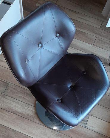 Krzesło fryzjerskie do myjki brązowe