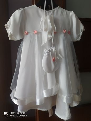 Sukienka+czapeczka na roczek