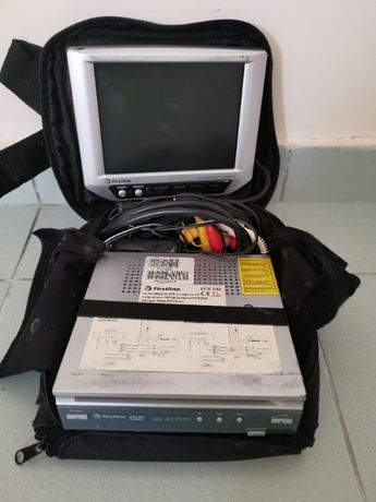 DVD portátil para o carro ou em casa (funciona 100%)