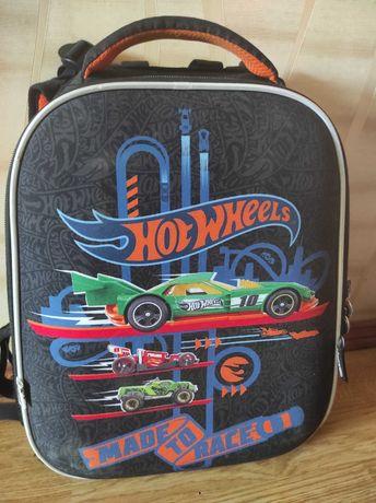 Рюкзак каркасний Kite Hot Wheels ранец школьный Кайт для мальчика