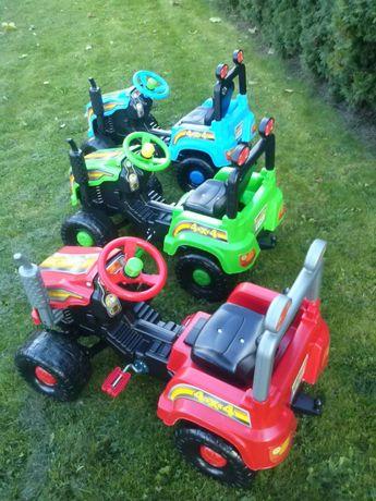 Traktor duzy na pedały NOWY dla dzieci Rzeszów przyczepka
