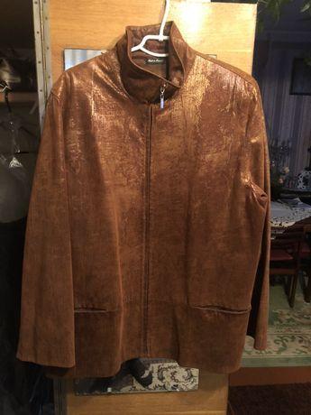 Куртка кожа 3XL