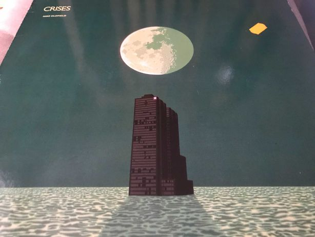 Mike Oldfield Crises winyl wydanie z 1983 roku