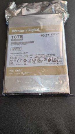 Dysk Twardy WD GOLD HDD WD181 KRYZ 18TB Western Digital.
