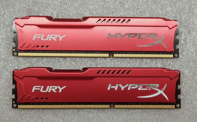 HyperX Fury Red DDR3 8GB 1600Mhz CL10