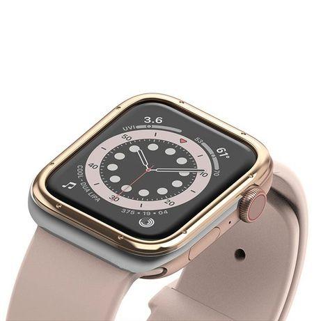 Capa Smartwatch Ringke Apple Watch 6 40Mm / Watch 5 40Mm / Watch 4 40Mm / Watch Se 40Mm - Dourado