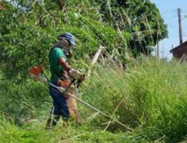 A.Limpeza de terrenos