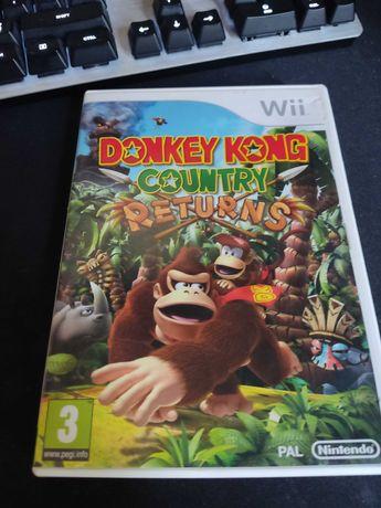 Donkey Kong Country Returns Wii używana