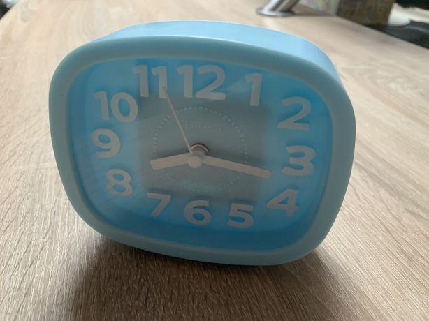 Zegar budzik niebieski