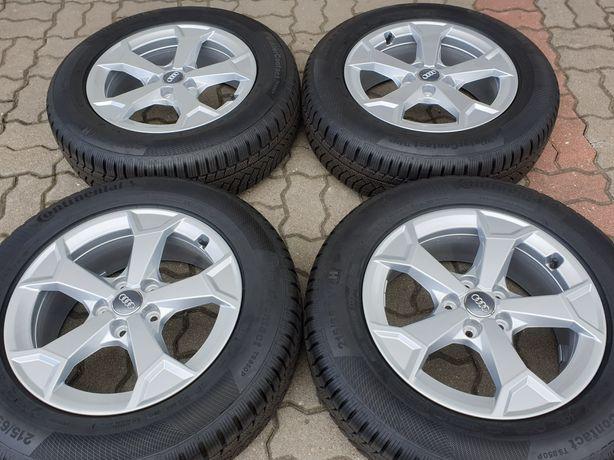 """JakNowe Koła Zimowe Alu 17"""" Audi Q3 83A VW Tiguan II 5x112 Oryginalne"""