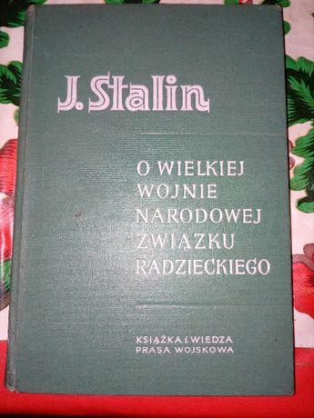 Książka PRL Jozef stalin