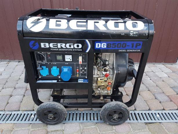 Agregat prądotwórczy DIESEL 10,6kVA 230V AVR BERGO DG8500-1P