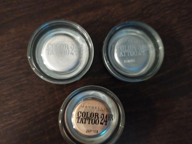 Color Tattoo 24HR 3 kremowe cienie do powiek