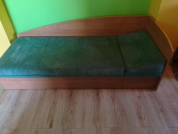 Łóźko meblowe tapicerowane