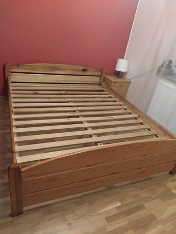 Łóżko drewniane sosna