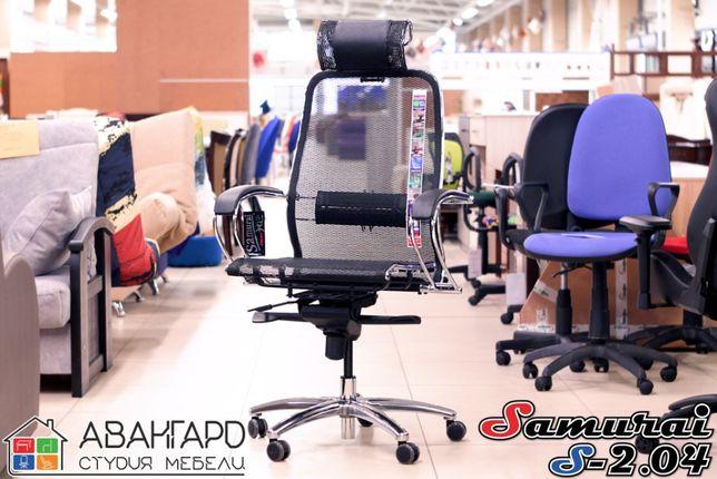 """Сетчатое директорское / компьютерное / офисное кресло """"Samurai S-2.04"""""""