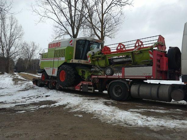 Transport niskopodwoziowy ciągników koparek kombajnów maszyn rolnicz