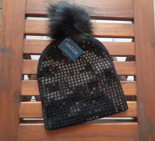 Damska czapka zimowa