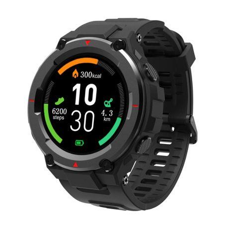 Smart Watch AllCall Model 3 styl militarny, tętno, ciśnienie, PL menu.