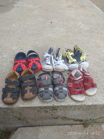 Buty rozm. 20 sandały trampki klapki buciki chłopiec jak nowe
