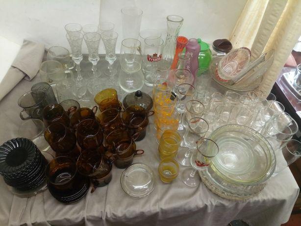 szkło naczynia kuchenne misy