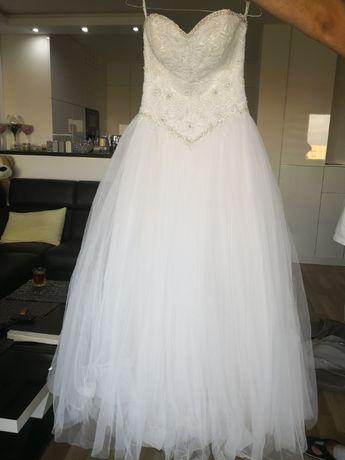 Suknia Ślubna Księżniczka 34-36