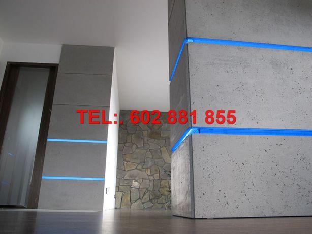 beton architektoniczny, płyty betonowe