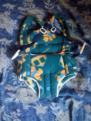 Рюкзак-кенгуру зеленого кольору