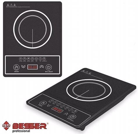 Новая индукционная плита Besser 2000Вт электроплита электрическая печь
