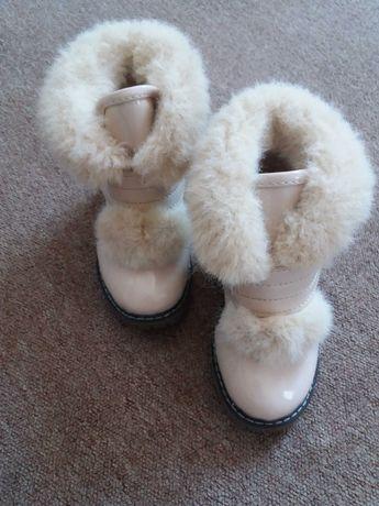 Детские ботинки демисезон, 25 размер. Состояние идеальное.